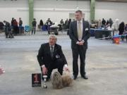 Chu-Chu Rheinberg beste veteraan in show op 28-2-2010 keurmeester Dusan Paunovic